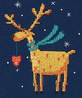 Набір для вишивки хрестом RTO ЕН371 «Золотий олень»