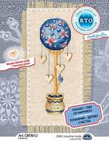 Набор для вышивки крестом RTO CBE9012 «Топиарий - дерево счастья»