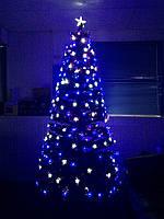 """Елка новогодняя, светящаяся, светодиодная """"Звездное небо"""" 210 см, zn210"""