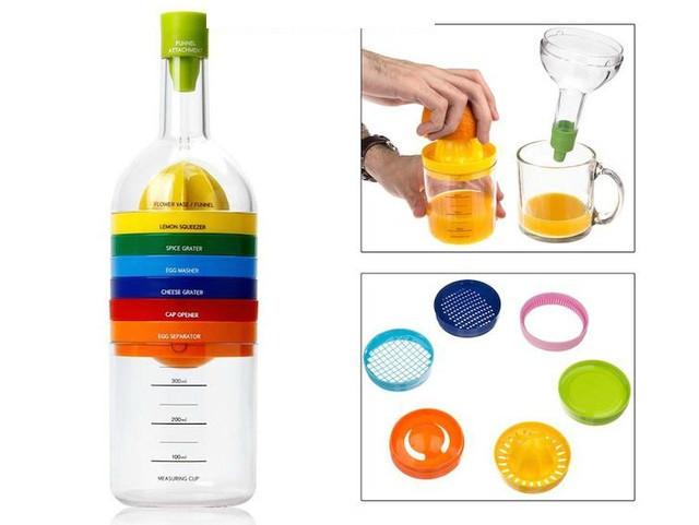 Волшебная кухонная бутылка 8 Kitchen Tools - кухонные аксессуары