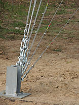 Алюминиевая мачта MА440  -  высота 28м, фото 3