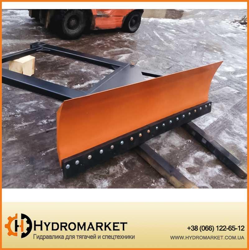 Снегоочиститель (снегоотвал) с амортизатором PVHU 300 / Snow Plow With Shock Absorption