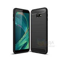Силиконовый чехол Carbon для Samsung Galaxy J4 Plus 2018 (J415), фото 1