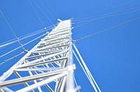 Алюминиевая мачта MА440  -  высота 32м