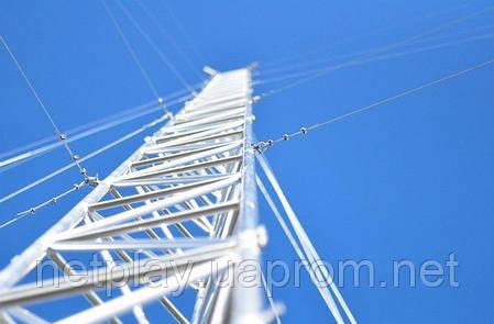 Алюминиевая мачта MА440  -  высота 32м, фото 2