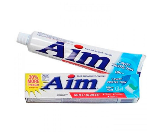 Aim Multi-Benefit Ultra Mint Gel зубная паста-гель 204 g
