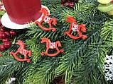 Новогодние игрушки, Новогодний декор, Украшения на Новый год, Символ 2019 года, Рекламный блок (Не для продаж), фото 4