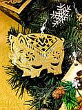 Новогодние игрушки, Новогодний декор, Украшения на Новый год, Символ 2019 года, Рекламный блок (Не для продаж), фото 8