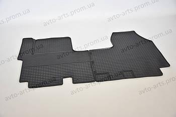Автоковрики резиновые в авто Opel Vivaro Renault Trafick ковры в салон передние Виваро Трафик CARGUMM