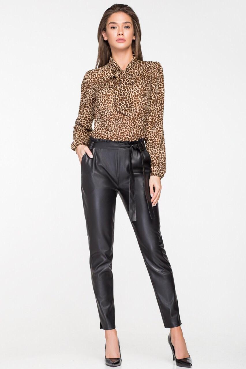 99e60a28671 Блузка леопардовая