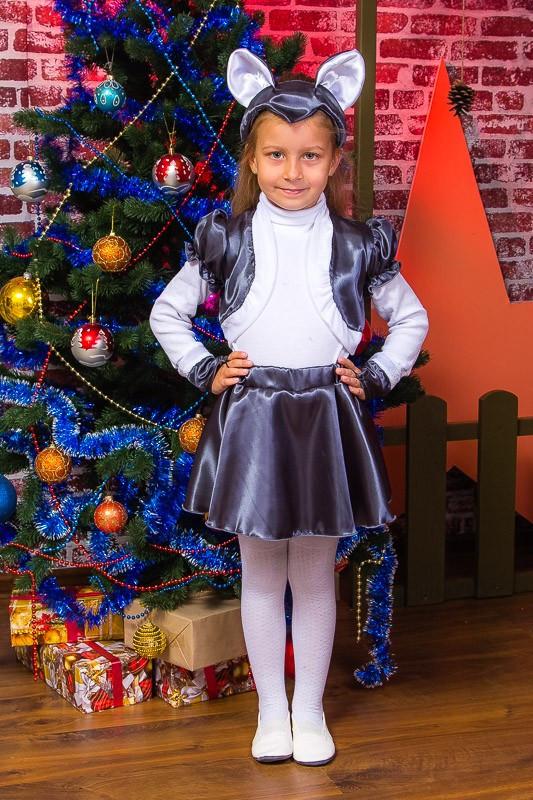 Карнавальный новогодний костюм Мышка