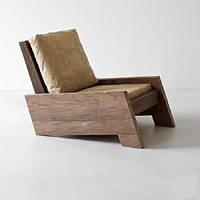 Кресло дизайнерское WorkShop массив Дуб (А200190)