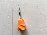 Алмазная маникюрная насадка для фрезера кукуруза Flyme (оранжевая)