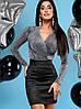 Женское платье из замши и люрекса (Стелла jd), фото 2