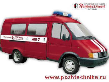 Автомобиль штабной ГАЗ АШ-7