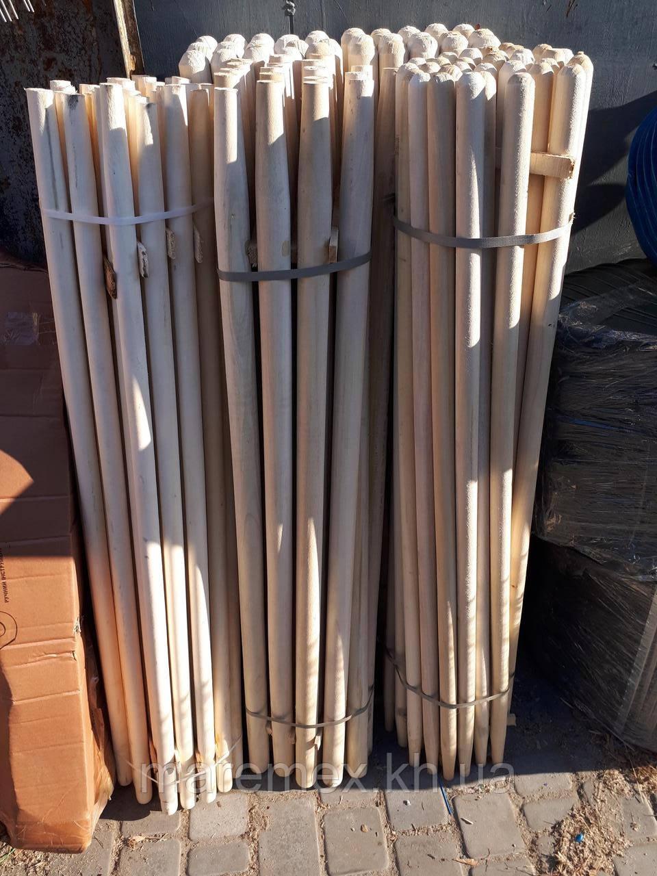 Черенок для лопат и хоз.инвентаря 30 мм/1,5 метра