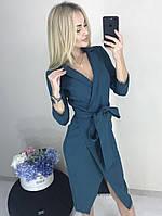 Платье из креп-костюмки женское , фото 1