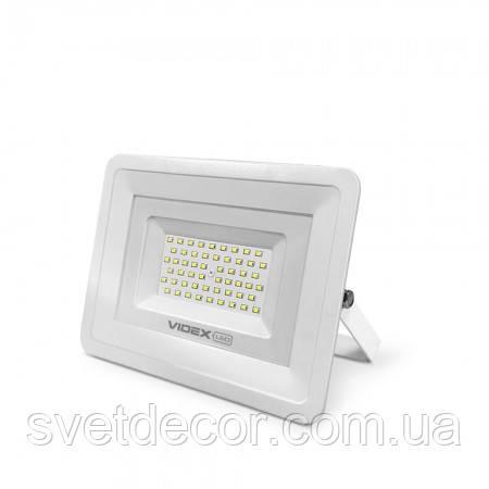 Светодиодный LED прожектор VIDEX 30W 5000K 220V VL-Fe305W белый