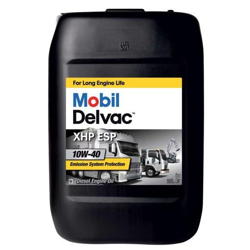 Масло моторное Mobil Delvac  XHP ESP 10W-40, тара 20 л