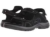 Сандали Вьетнамки (Оригинал) ECCO Sport Offroad Lite II Sandal Black Yak  Nubuck f7c666233a9cf
