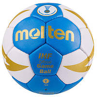 Мяч гандбольный Molten 8000, р.2. Распродажа! Оптом и в розницу!