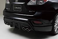 Накладка диффузор заднего бампера Lexus RX 2008-2015 г.в. в стиле Wald , фото 1