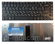Оригінальна клавіатура для ноутбука Acer Aspire 3830, 3830G, 3830T, 3830TG, 4755 (без рамки) Black, ua