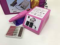 Фрезер для маникюра и педикюра Lino Mercedes 20 Ватт Розовый