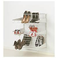 ALGOT Настенная шина/органайзер для обуви