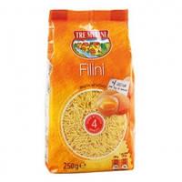 Макароны суповые Tre Mulini «Filini / Stelline» на желтках 250 гр.