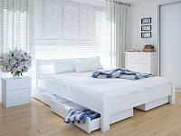 Кровать MeblikOff Эко с ящиками (160*200) ясень