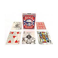 Карты для игры в покер USPCC Bicycle Escape Map, КОД: 258497