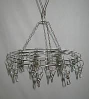 Вертушка торговая с прищепками металлическая , фото 1