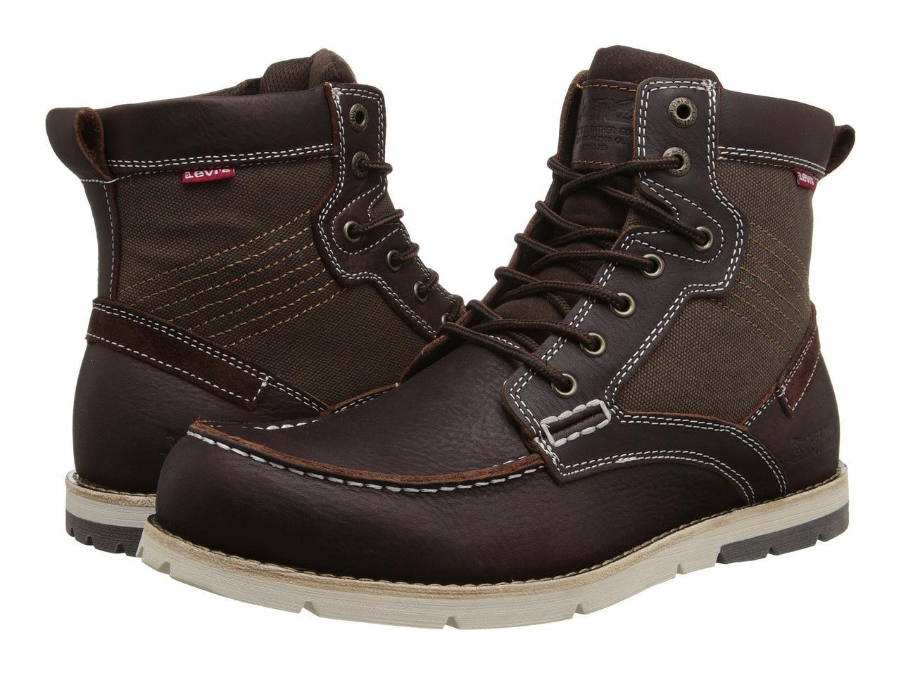 d6f8e1af Ботинки/Сапоги (Оригинал) Levis® Shoes Dawson Burgundy — в Категории ...
