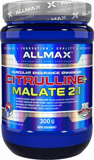Цитрулин All Max Nutrition Citrulline Malate 2:1 300 g