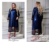 Стильное платье батал Нариман, фото 1