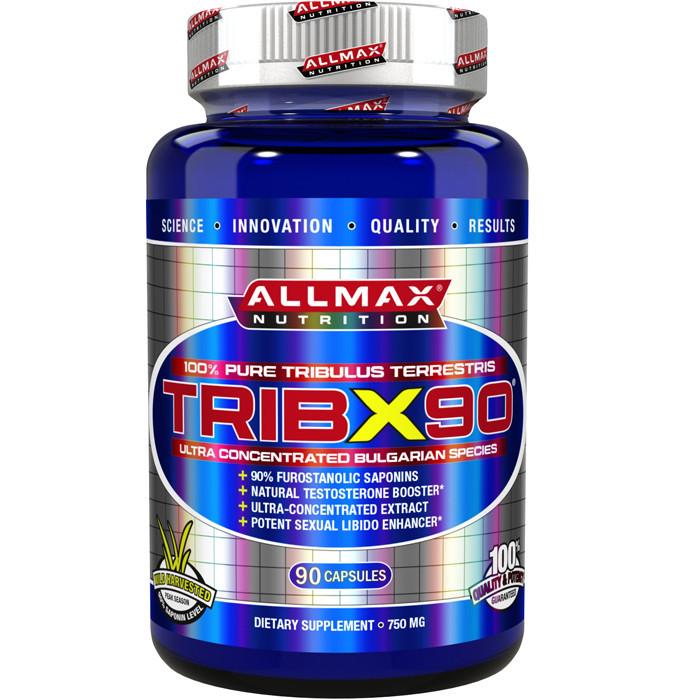Трибулус All Max Nutrition TribX90 90 caps, Олл Макс ТрибХ90 90 капсул