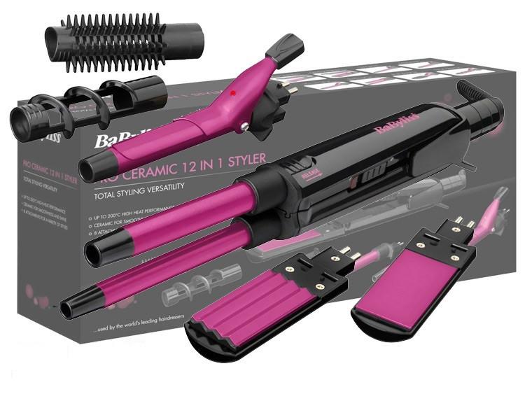 Набір для укладання волосся Pro Ceramic 12 в 1, багатофункціональний стайлер
