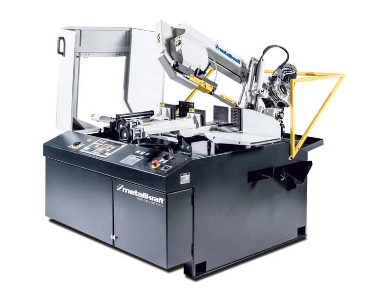 Ленточнопильный станок по металлу Металлкрафт BMBS 240 280 с ЧПУ F / ЧПУ GF