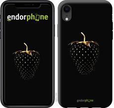 """Чехол на iPhone XR Черная клубника """"3585c-1560-851"""""""