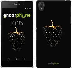 "Чехол на Sony Xperia Z2 D6502/D6503 Черная клубника ""3585c-43-851"""