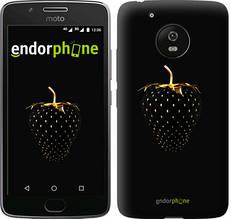"""Чехол на Motorola Moto G5 Черная клубника """"3585u-832-851"""""""