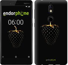"""Чехол на Nokia 7 Черная клубника """"3585u-1367-851"""""""