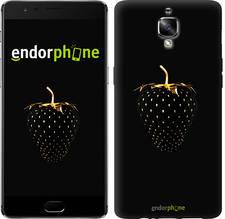 "Чехол на OnePlus 3 Черная клубника ""3585c-334-851"""