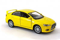 "Машина металла. ""Kinsmart 'Mitsubishi Lancer Evolution X"" KT5329W"