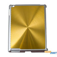 Чехол Drobak Aluminium Panel для Apple iPad 3 (Gold)