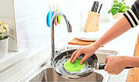 Силиконовая губка для мытья посуды