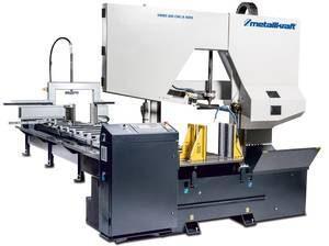 Автоматический ленточнопильный станок по металлу двухколонного типа HMBS 600 ЧПУ X 6000