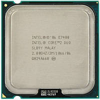 Core2 Duo E7400 2.8GHz/3M/1066 s775. Гарантия
