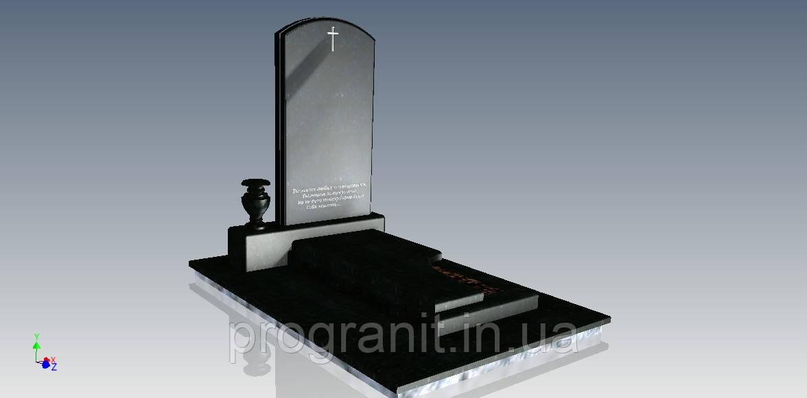 Памятник гранитный (комплект)